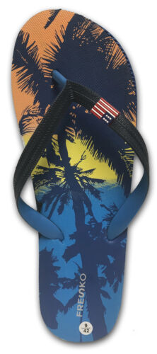 Fresko Men/'s Light and Comfortable Flip-Flops Sandals