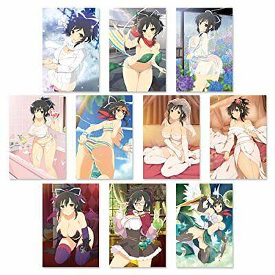 Senran Kagura NewWave G Burst Post Card Set first Rin Lin japan