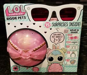 Lol Surprise Biggie Pets Hop Hop Eye Spy 15 Surprises 552246