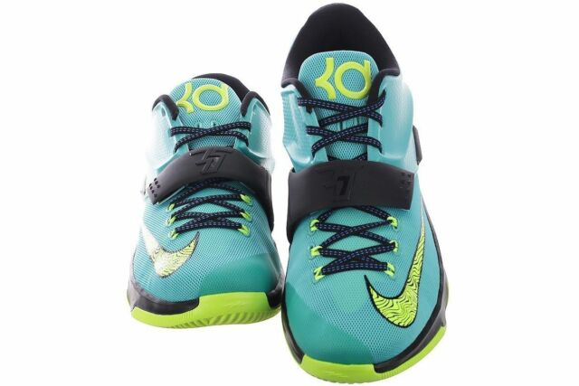 buy popular c5802 abf91 Frequently bought together. Nike KD VII 653996-370 Hyper Jade Volt Black  Blue ...