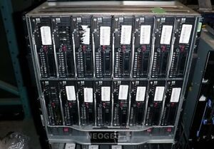 HP-C7000-Server-Blade-Enclosure-16x-BL465C-G7-Proliant-384-Opteron-Cores-512GB