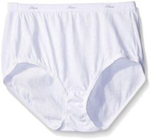 Hanes-Womens-Panties-3-Pack-Cotton-Brief-Panty-Select-SZ-Color