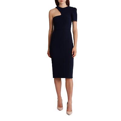 NEW Yeojin Bae Double Crepe Brooklyn Dress Navy