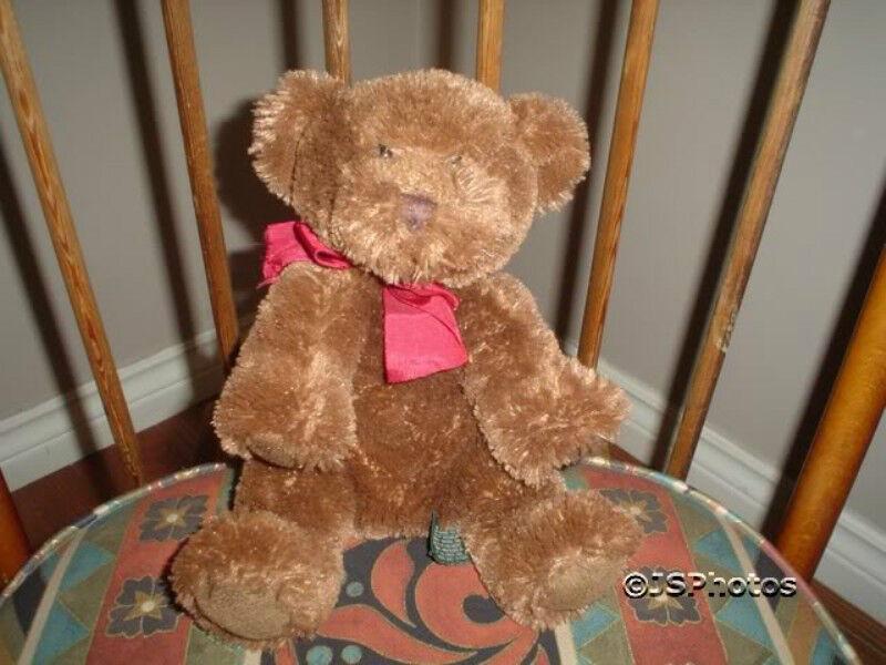 Russ Berrie Giles  Bear 10 Inch Furry Plush 23126