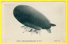 cpa 94 - ORLY L' HÉLICOSTAT OEHMICHEN Aérostat hélicoptère Ballon Dirigeable