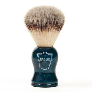 Beautiful-Synthetic-Hair-Shave-Brush-with-Blue-Handle