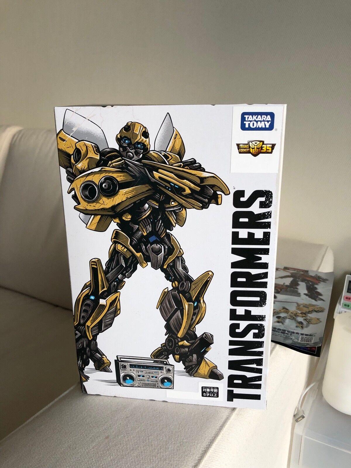 Tokyo Comic Con 2018 exclusivo Transformers ss-ex Bumblebee Retro Conjunto De Garaje