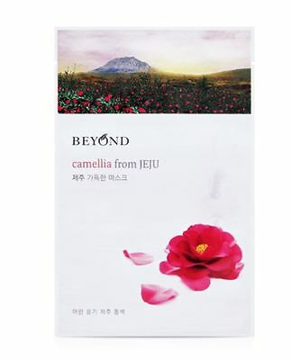 [BEYOND] CAMELLIA from JEJU Mask Sheet 6PCS(Firming) - Korean Cosmetic
