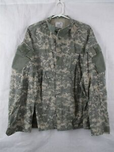 ACU-Shirt-Coat-Large-Regular-USGI-Digital-Camo-Cotton-Nylon-Ripstop-Army-Combat