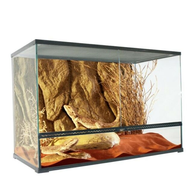 Snake Tank Coffee Table.Deluxe Reptile Lizard Frog Snake Terrarium Tank Enclosure 90cm X 45cm X 60cm