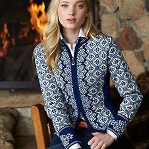 NEW! Dale of Norway CHRISTIANIA 100% Merino Wool Sweater ATLANTIC ... 6ec8b5dca