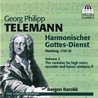 Telemann Harm.Gottesdienst Vol.3 von Mona Julsrud,Frode Thorsen,Bargen Barokk (2011)
