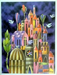 Jerusalem-Israel-Art-Prints-Original-Judaica-Arts-Art-Old-City