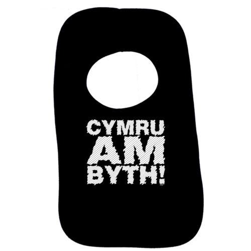 Divertido Bebé Infantes Servilleta-Cymru am byth Babero