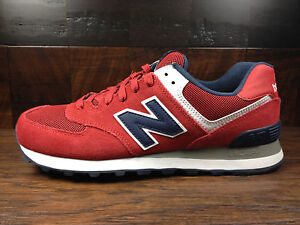 new balance ml574 red navy