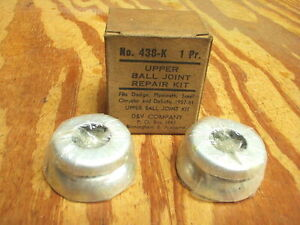 1957-1958-1959-1960-1961-Chrysler-Dodge-Plymouth-ball-joints-repair-kit-NOS