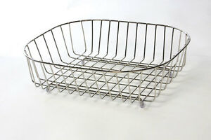 Image Is Loading Delfinware Stainless Steel Oval Sink Basket Drainer 3950