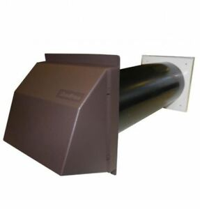 Stadium-BM418B-Core-Drill-Anti-Draft-Black-Hole-Vent-Brown-Cowl