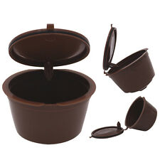 Refillable for Dolce Gusto Coffee Capsules 2 pods Money Saving Reusable
