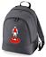 Football-TEAM-KIT-COLOURS-Arsenal-Supporter-unisex-backpack-rucksack-bag miniatuur 5