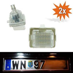 LED KENNZEICHENBELEUCHTUNG KENNZEICHENLEUCHTE MERCEDES C E KLASSE W204 W212 W221