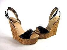 Penny Loves Kenny Syclone Tassel Ankle Strap Sandal(Women's) -Blue Matte Polyurethane Classic ygry4bT