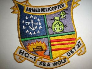 US-Navy-HC-1-DET-27-SEAWOLF-ARMED-HELICOPTER-Vietnam-War-Patch