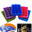 Silicone-Ice-Cube-Tray-Mould-15-Cavity-Square-Ice-DIY-Maker-Mold-Random-Color