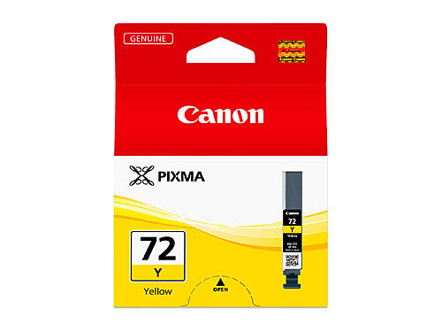 Canon PGI72 Yellow Ink Tank Cartridge PGI72Y 85 pages A3+ PIXMA PRO10 PRO10S