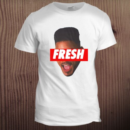 Fresh will smith prince face dope hip hop trill 90s trill swag t shirt