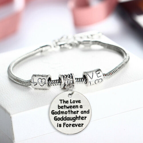 Inspirational Gifts Charm Bracelet Women Gift For Mom Chains Bracelets Jewelry
