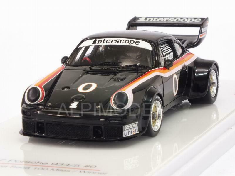 Porsche 934 5 Interscope Racing Winner 100 Miles IM 1 43 TRUESCALE TSM430226