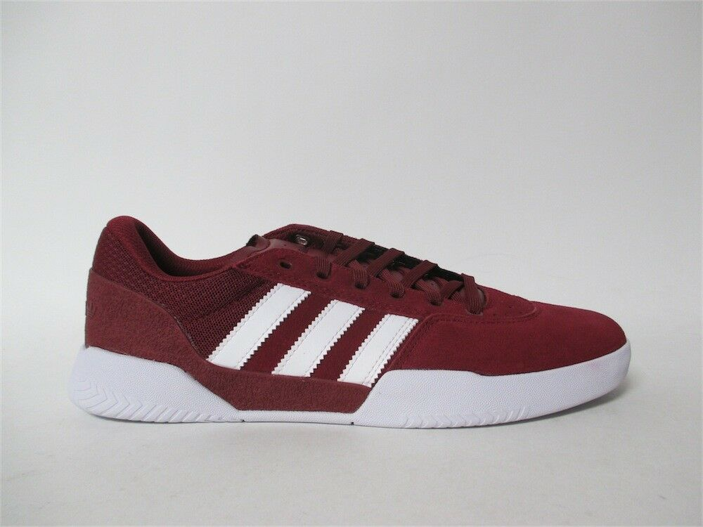 Adidas City Cup College Burgundy White Sz 11 CQ1082