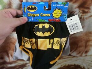 CLOSEOUT-SALE-Imported-FROM-USA-7-99-Batman-Diaper-Cover-6-12m-1