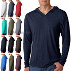 Next Level Tri Blend Lightweight Hooded Mens & Womens Unisex Tee -T shirt 6021