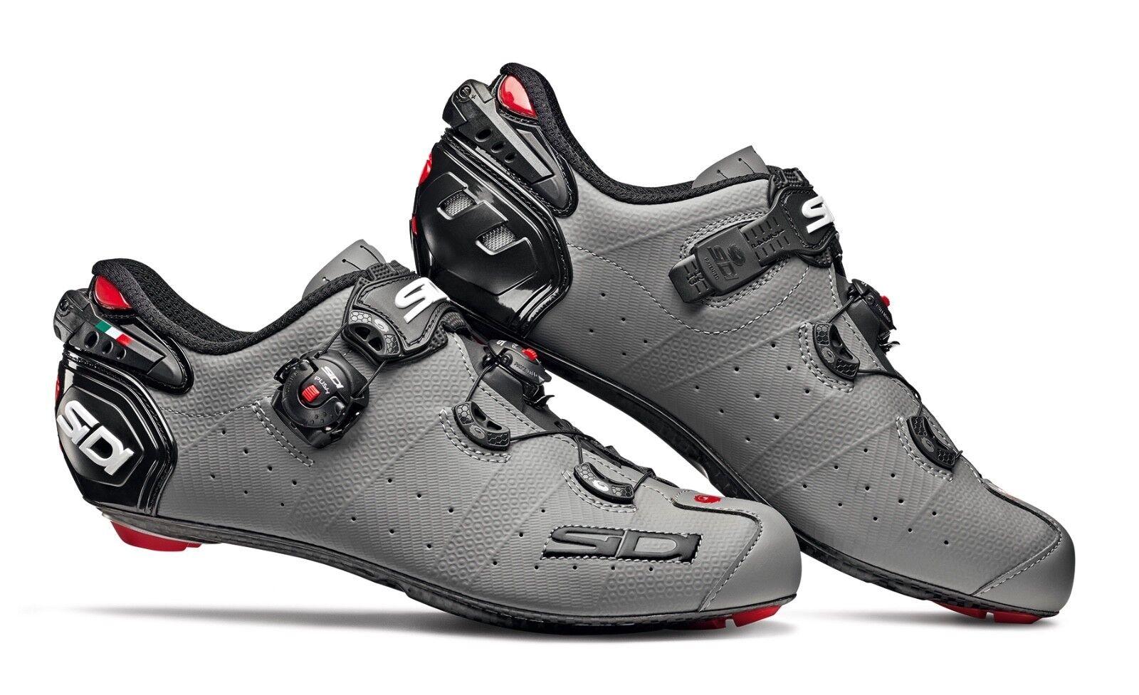 Schuhe SIDI SIDI SIDI WIRE 2 matt Kohlenstoff Größe 45,5 grau matt schwarz 6b2e62