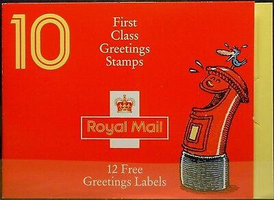 Mh 96 Ii ** Markenheftchen Minr mnh Greeting-stamps Waren Jeder Beschreibung Sind VerfüGbar Gb Za560