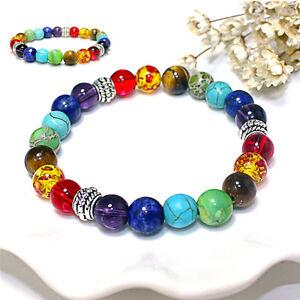 Nouveau-7-Healing-Balance-Perles-Bracelet-Pierre-Naturelle-Bijou-Vo