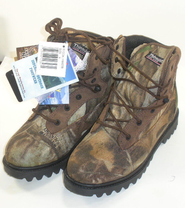 Proline 6  Camo Insulated Boots Size 12 3068