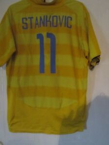 premium selection 368cd d7cb7 Details about Inter Milan 2003-2004 Away Stankovic 11 Football Shirt Size  xxl /43459