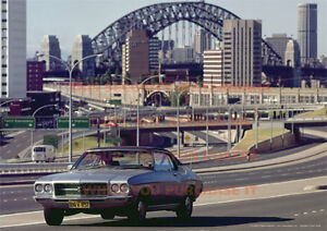 HOLDEN-HQ-MONARO-LS-POSTER-SYDNEY-WARRINGAH-EXPWY-A3-PRINT-PHOTO-PICTURE