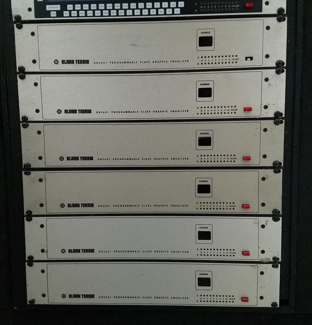 Klark teksnik DN3601 Programmierbarer Slave Graphic Equalizer
