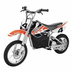 Razor MX650 Steel Electric Dirt Rocket Kids Motorcross Motorcycle Bike, Orange