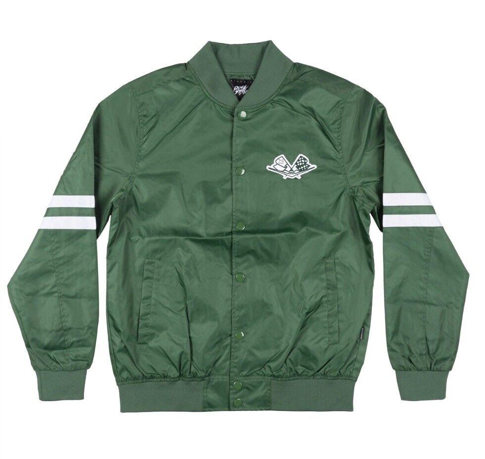 Rocksmith New York Jetlife Varsity Jacket Size Large