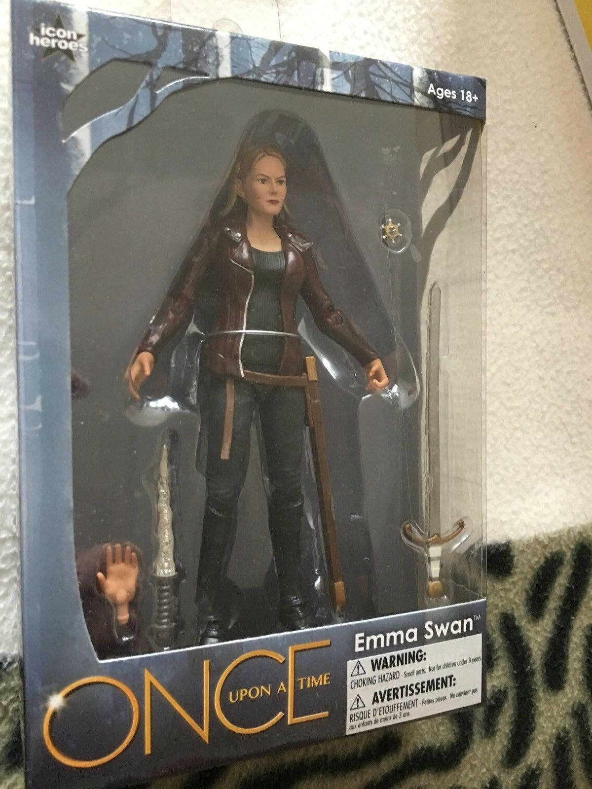 Once Upon A Time Tv Series Series Series Emma swan  Five Inch figure 9097d5
