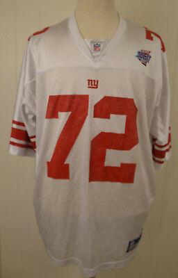 Reebok NY New York Giants Super Bowl XLII Jersey #72 Osi Umenyiora NFL 2XL White   eBay