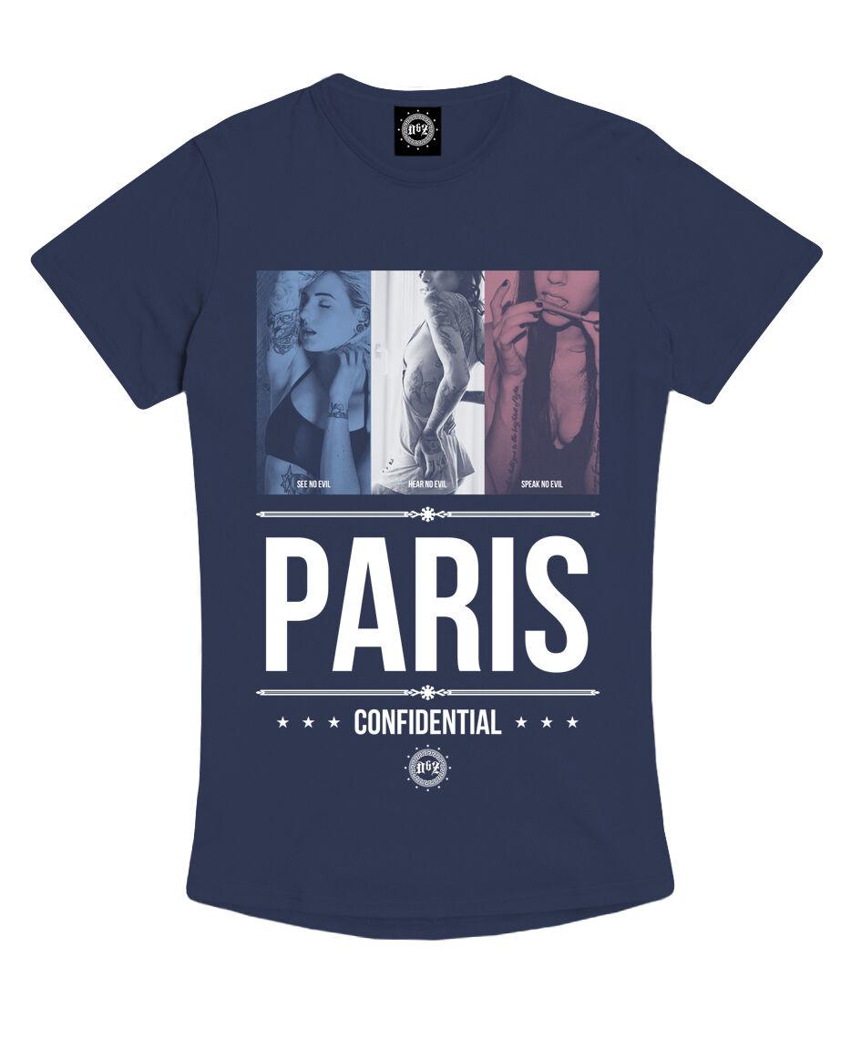 Death by Zero USA - CALLIN' PARIS 100% Cotton, Graphic Tee, L