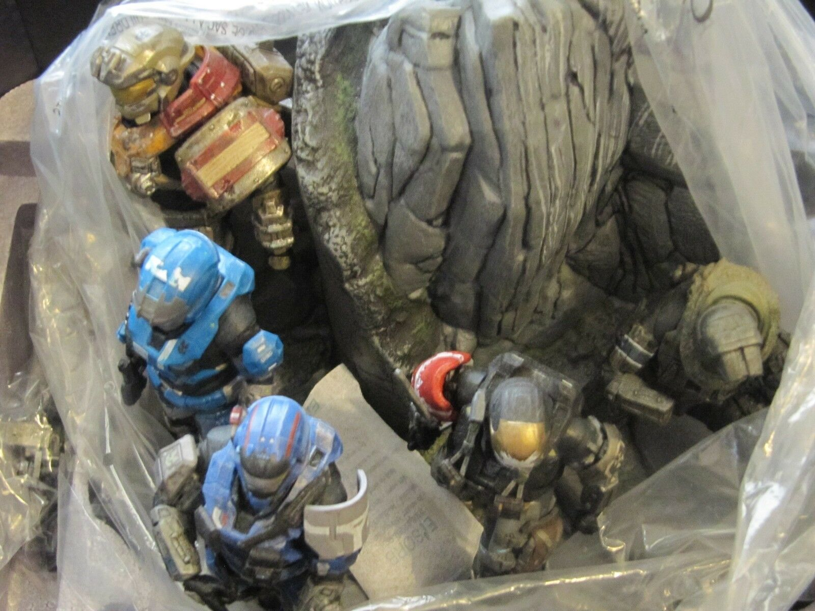 HALO REACH NOBLE TEAM Statue Limited Legendary Collectors Edition with BOX