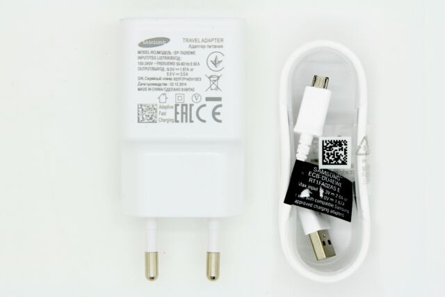 Oem Travel Charger Adaptive Fast Charging For Samsung Galaxy Note 4 / Edge / S6