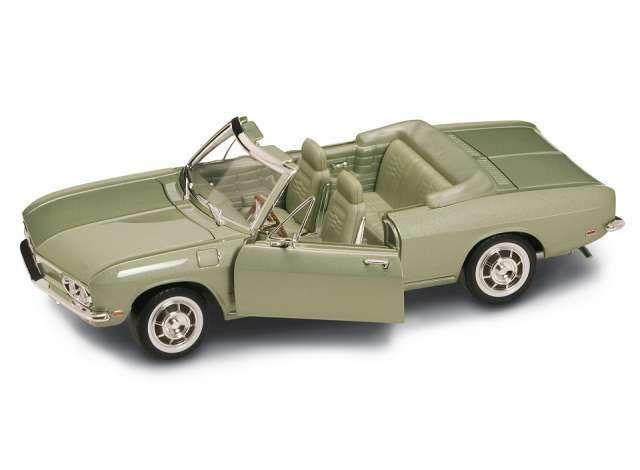Chevrolet Corvair Monza cabrio 1969 metalizado verde 1 18 Model Lucky la cast